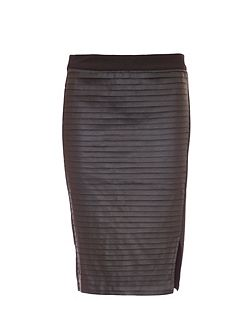 Textured Tube Skirt