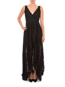 Relish Lace Maxi Dress