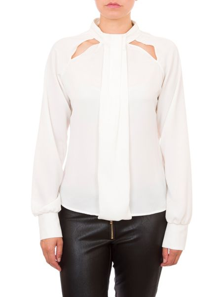 Relish Pussy Bow Blouse