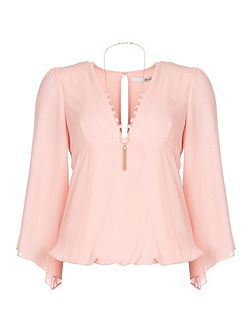 Wide Sleeved Blouse