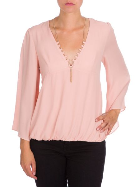 Relish Wide Sleeved Blouse
