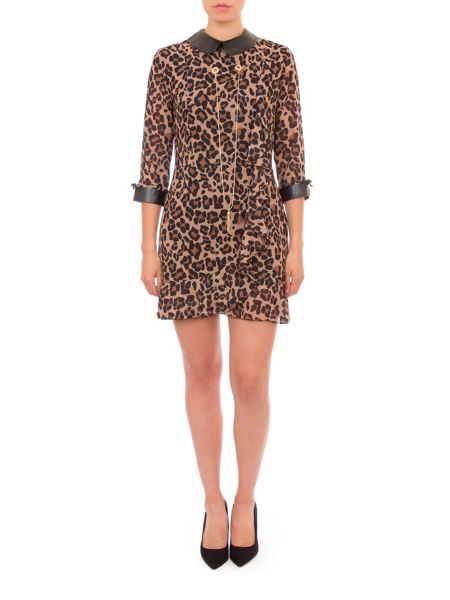 Relish Leopard Print Dress