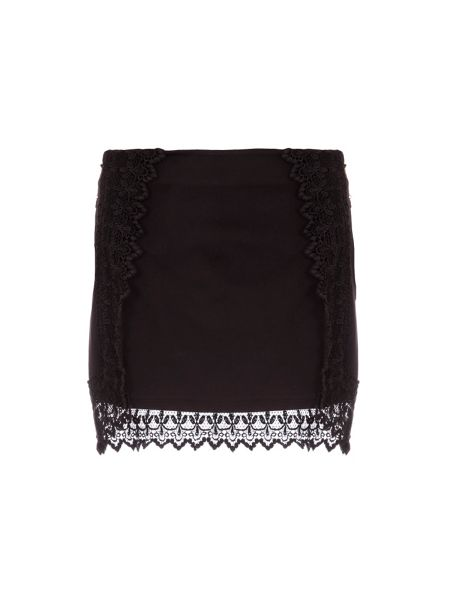 Relish Mini Skirt With Lace Detailing