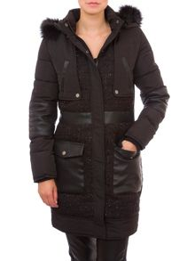 Relish Hooded Puffer Jacket