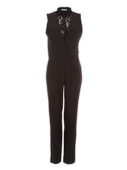 Jumpsuit With Lace Detailing