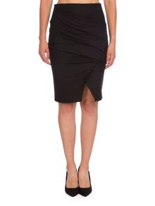Relish Ruched Tube Skirt
