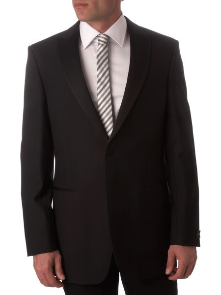 Simon Carter Single breasted formal dinner suit jacket