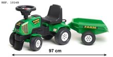 Falk Master Ride-on Tractor with Trailer