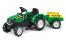 Falk Max Ride-on Tractor with Trailer
