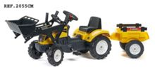 Falk Ranch Loader Tractor With Trailer