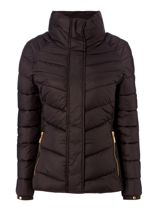 Barbour Camier Quilted Funnel Neck Jacket