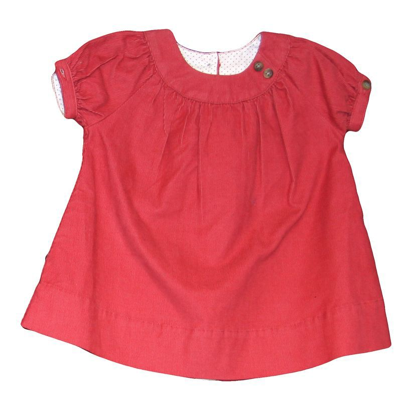 Baby girl short-sleeved dress