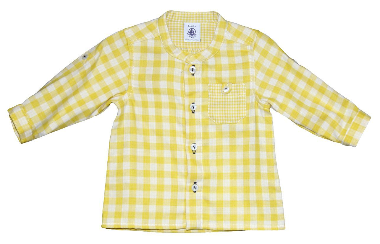 Baby boy vichy check shirt