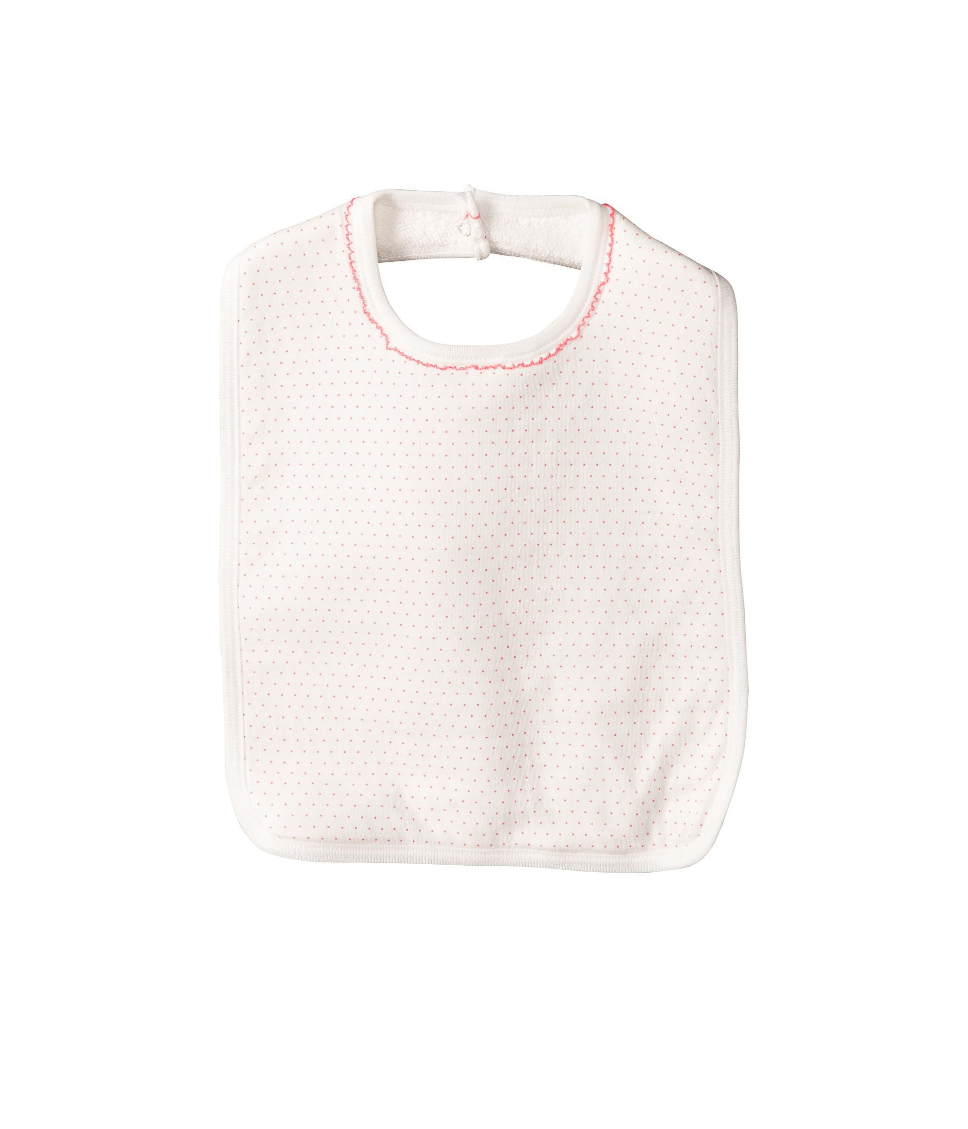 Baby girl flower small bib