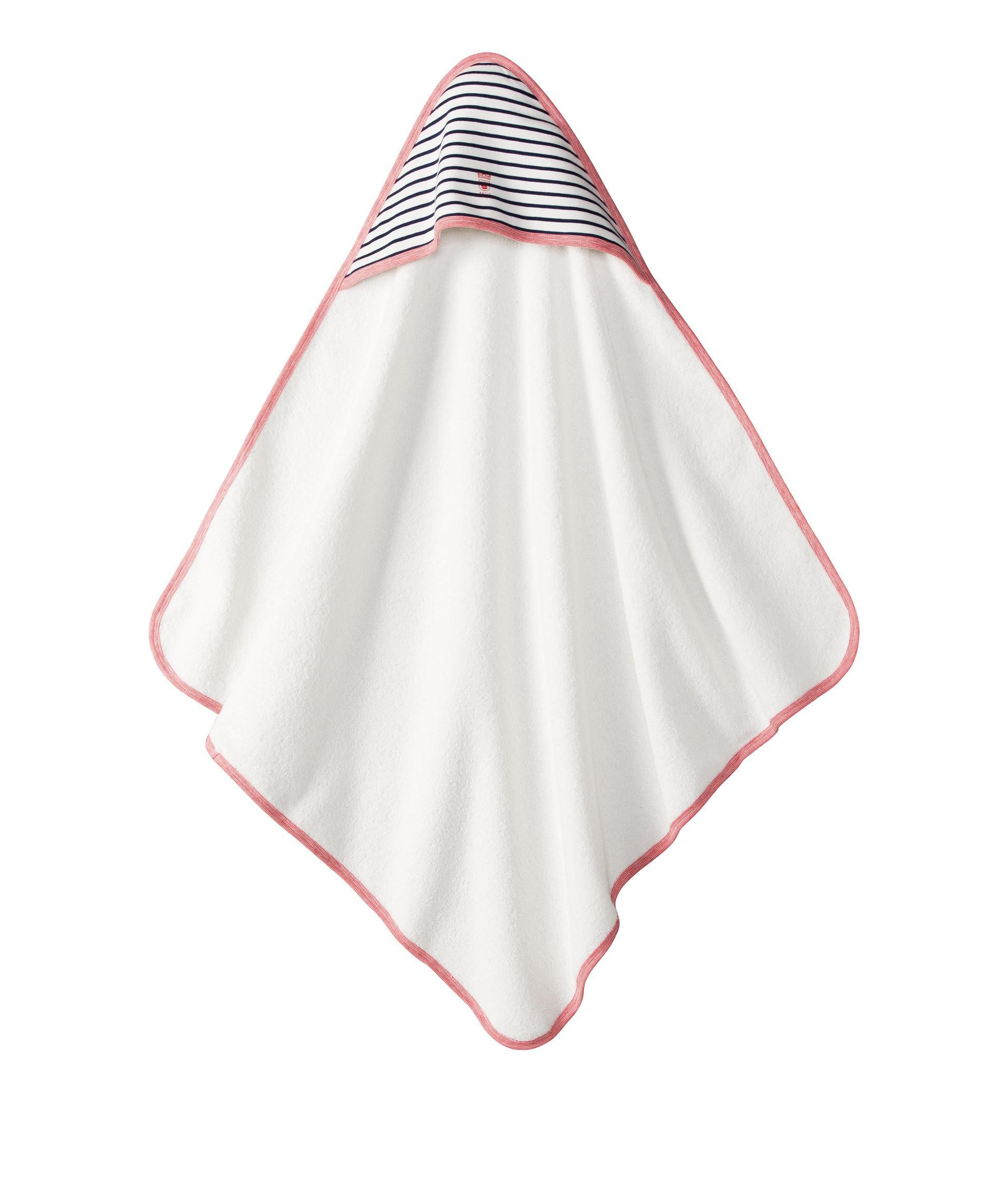 Baby boy sailor-stripe bath towel