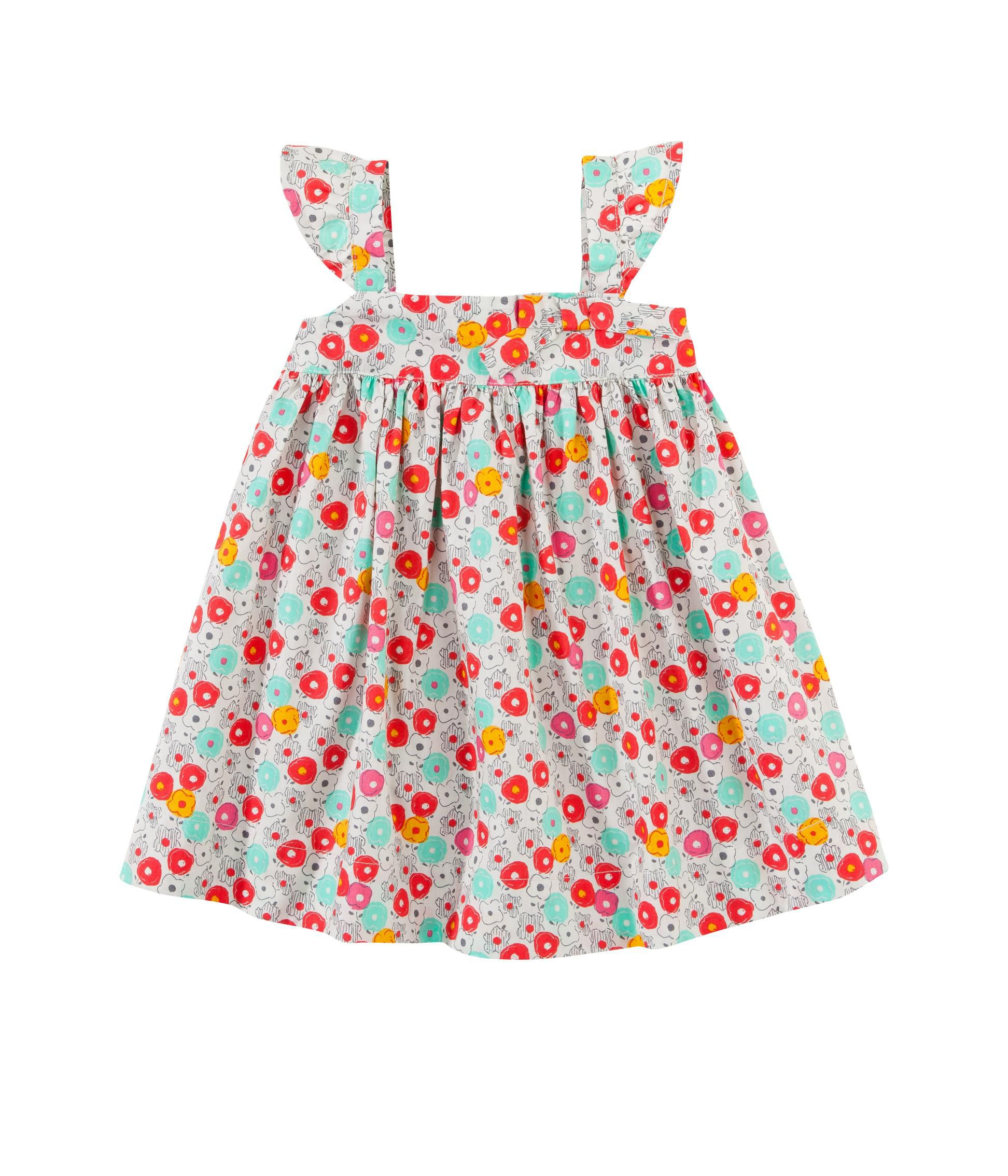 Baby girl floral flared dress