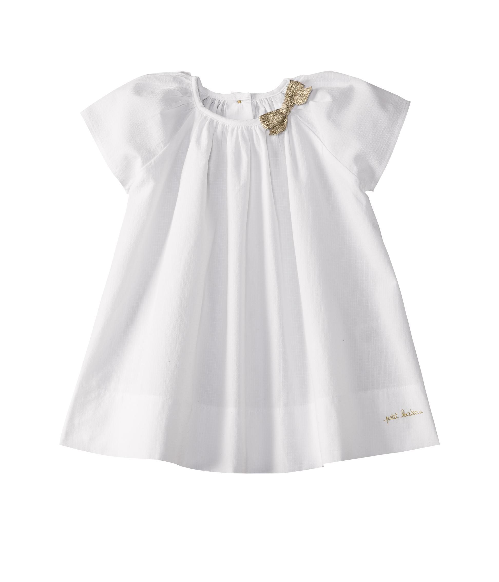 Baby girl dress with butterfly sleeves