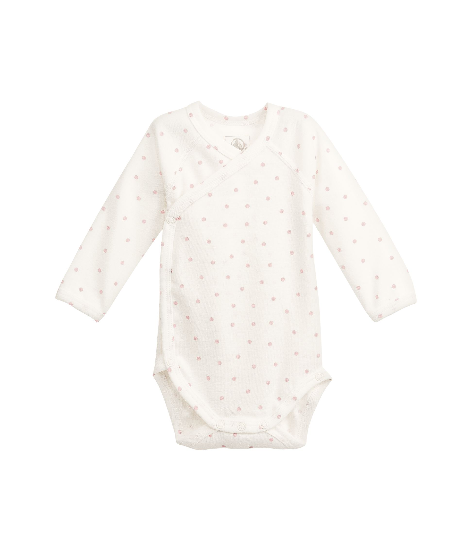Newborn baby long-sleeved cotton bodysuit