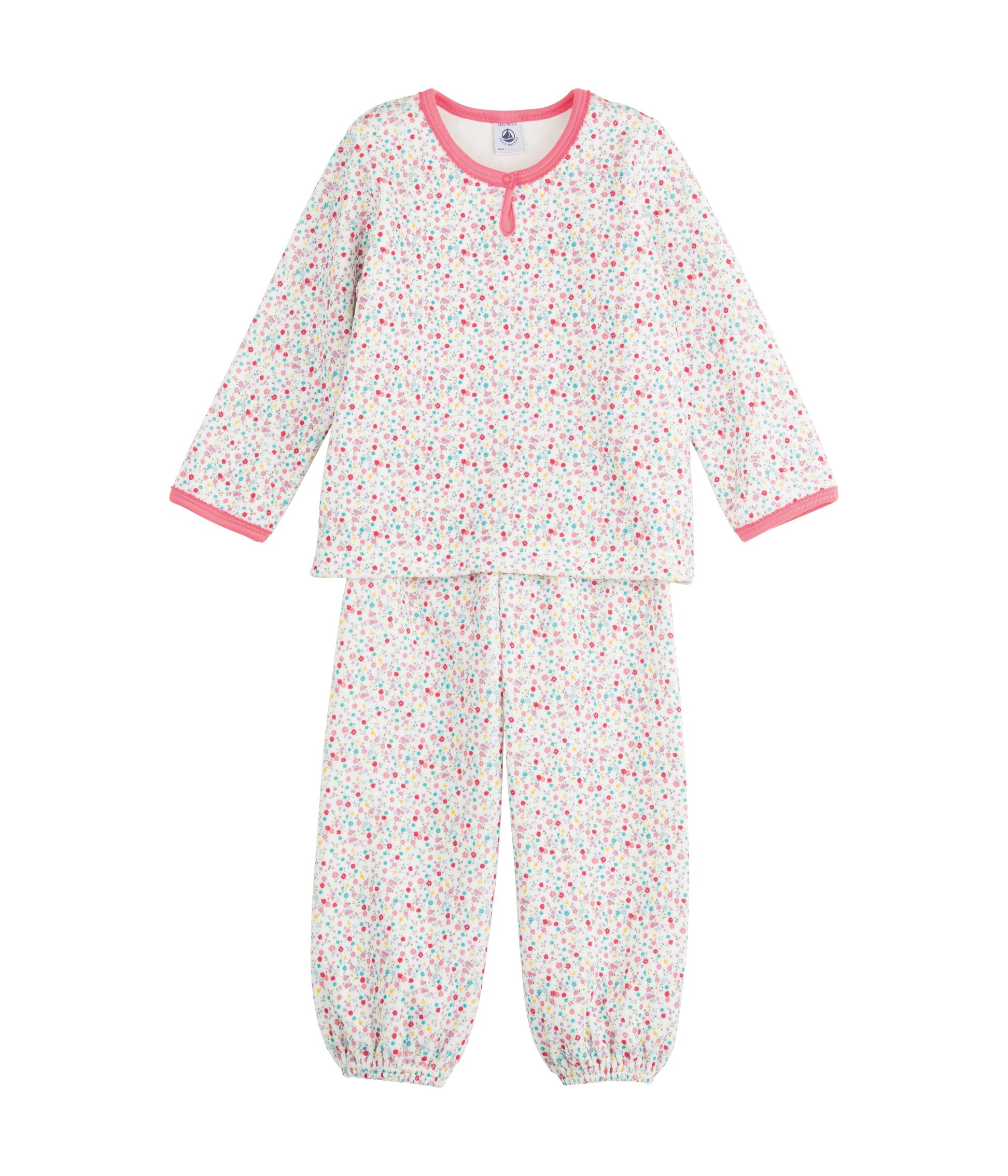 Girl`s velour pyjamas