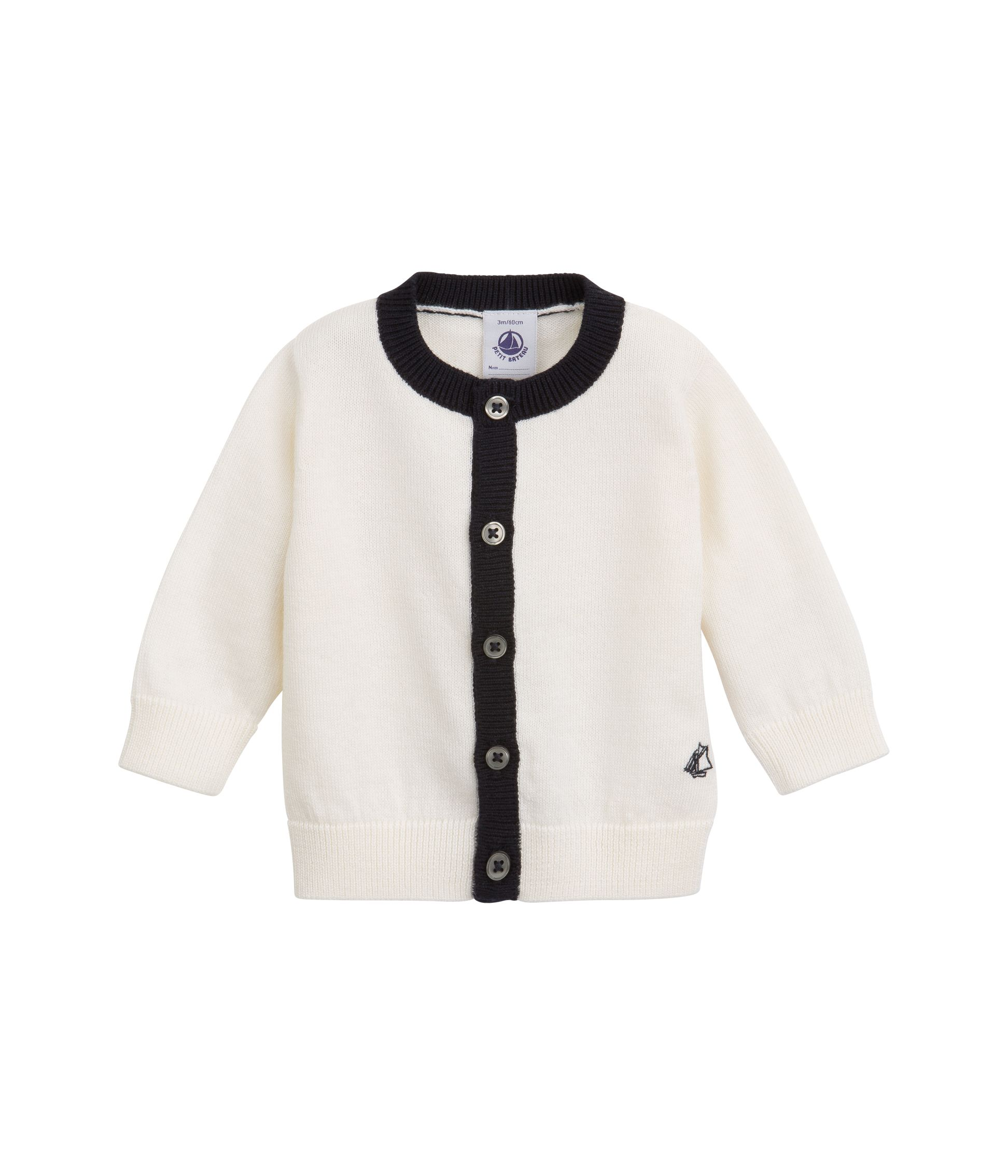 Baby girl`s graphic style cardigan