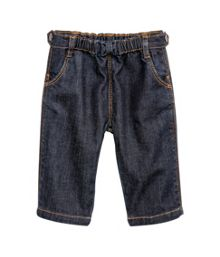 Baby girl`s jeans