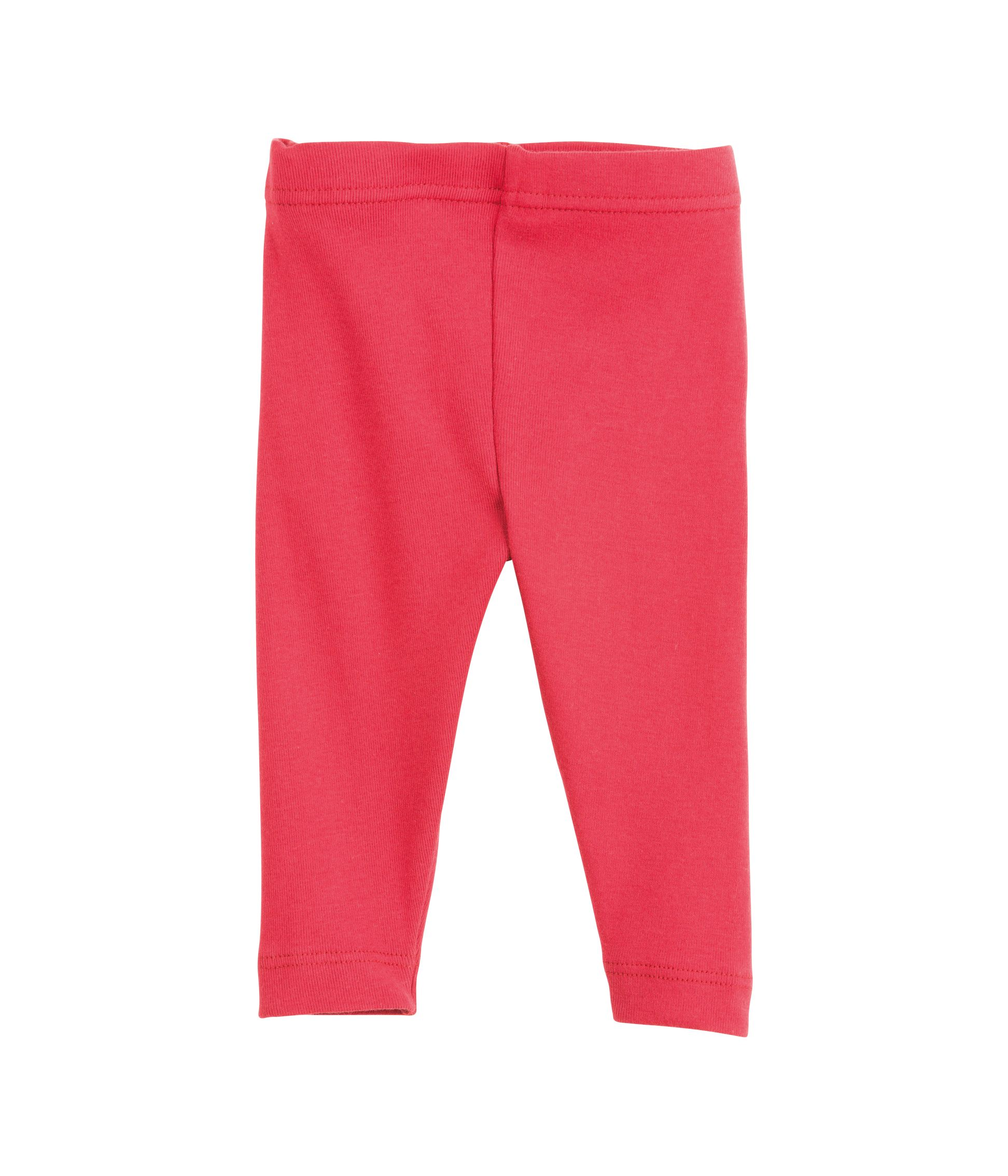 Baby girl`s cotton leggings