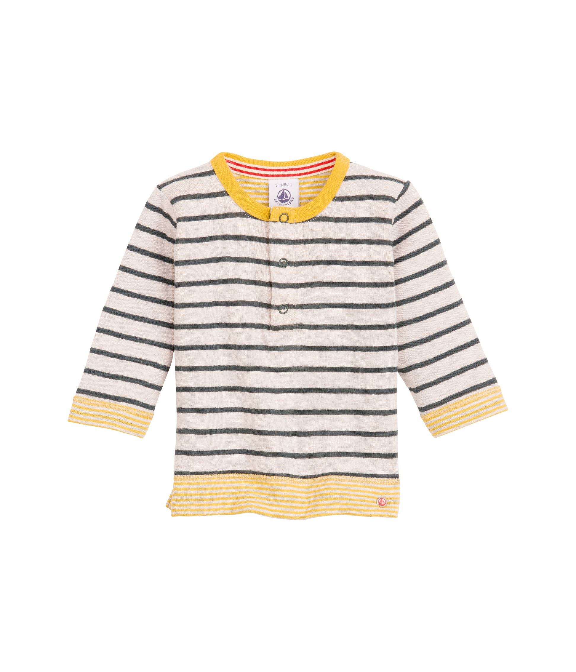 Baby boy`s striped tubic jersey sweatshirt