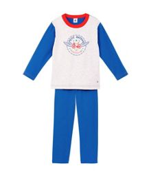 Boys cotton winged bicycle pyjamas