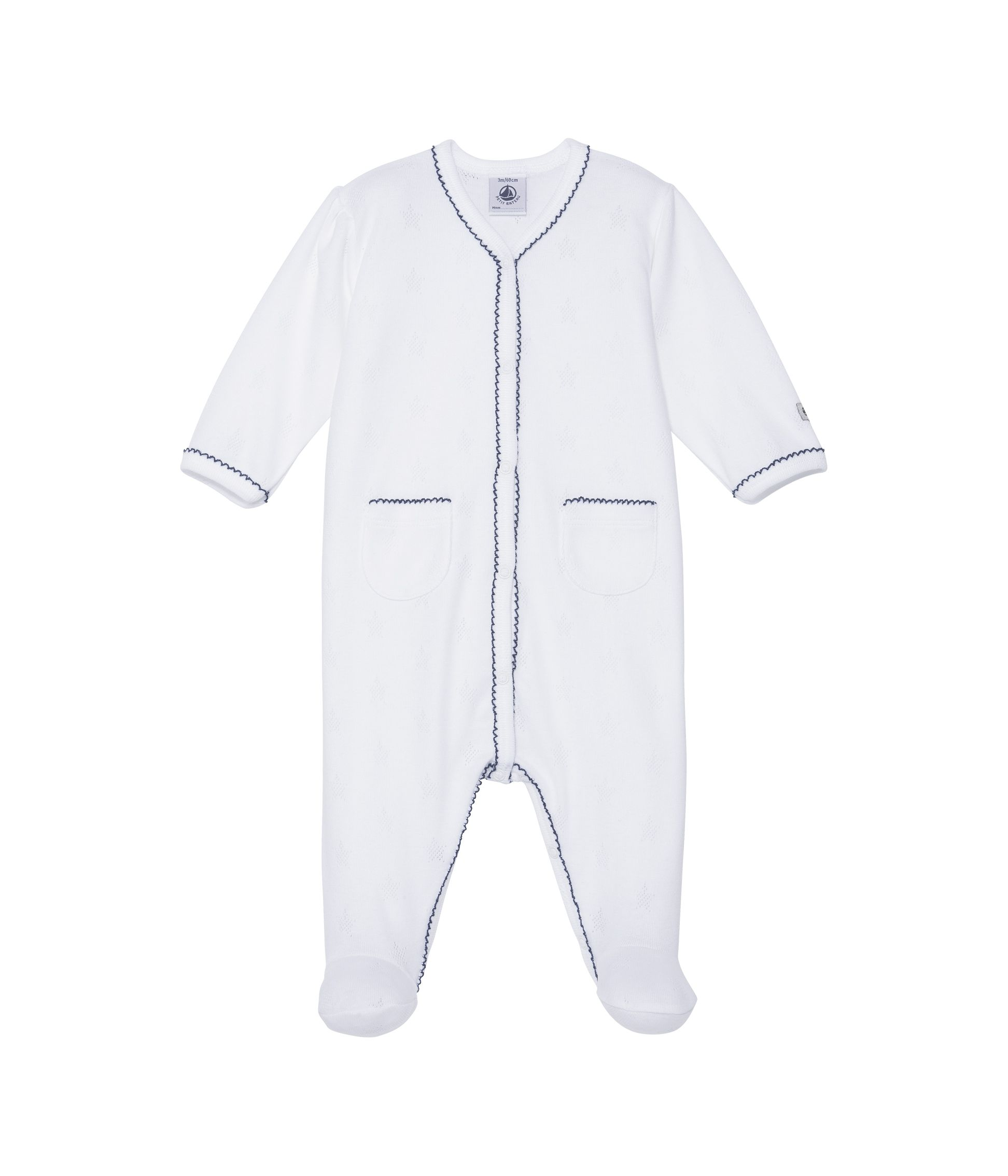 Baby girls sleepsuit