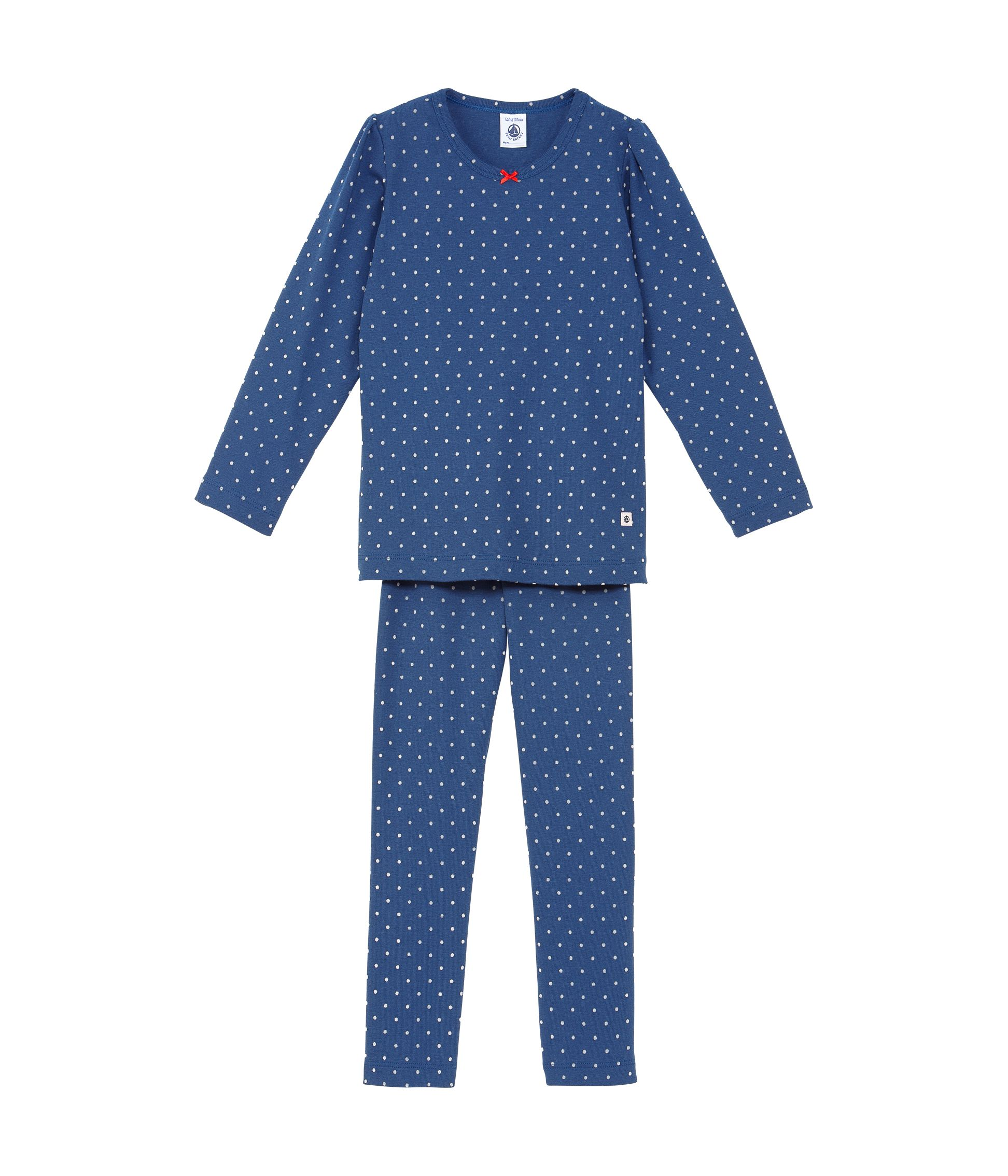 Girls mini polka dot pyjamas