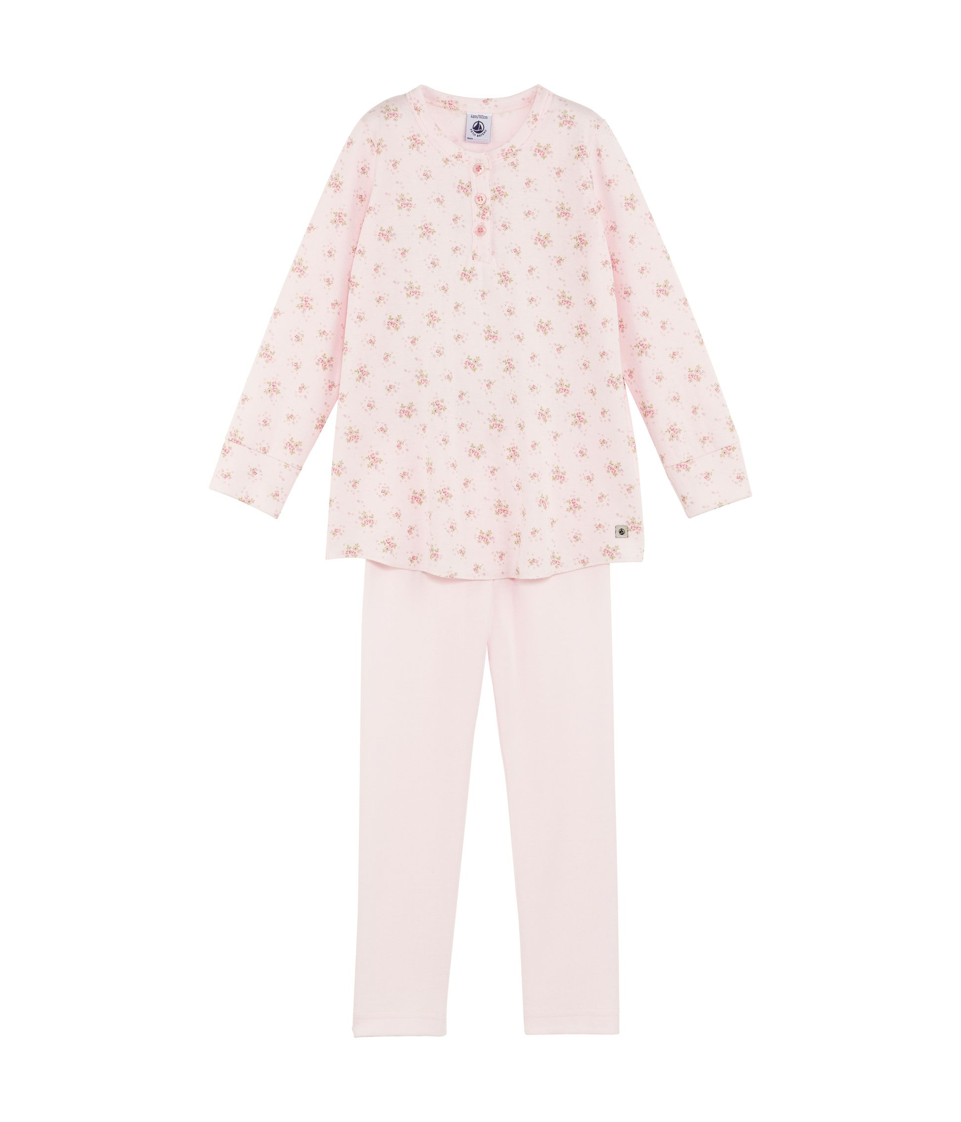 Girls soft jersey pyjamas
