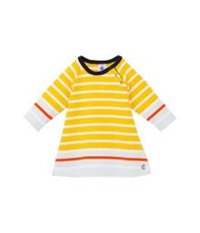 Baby girls breton long sleeve dress