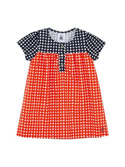 Baby girls poplin dress