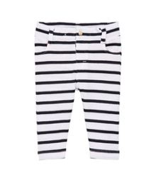 Babys sailor striped 5 pocket trouser