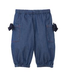 Baby girls micro-denim jeans
