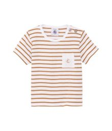 Petit Bateau Baby boys sailor stripe short sleeve t-shirt