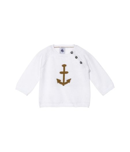 Petit Bateau Baby boys cotton knit jumper