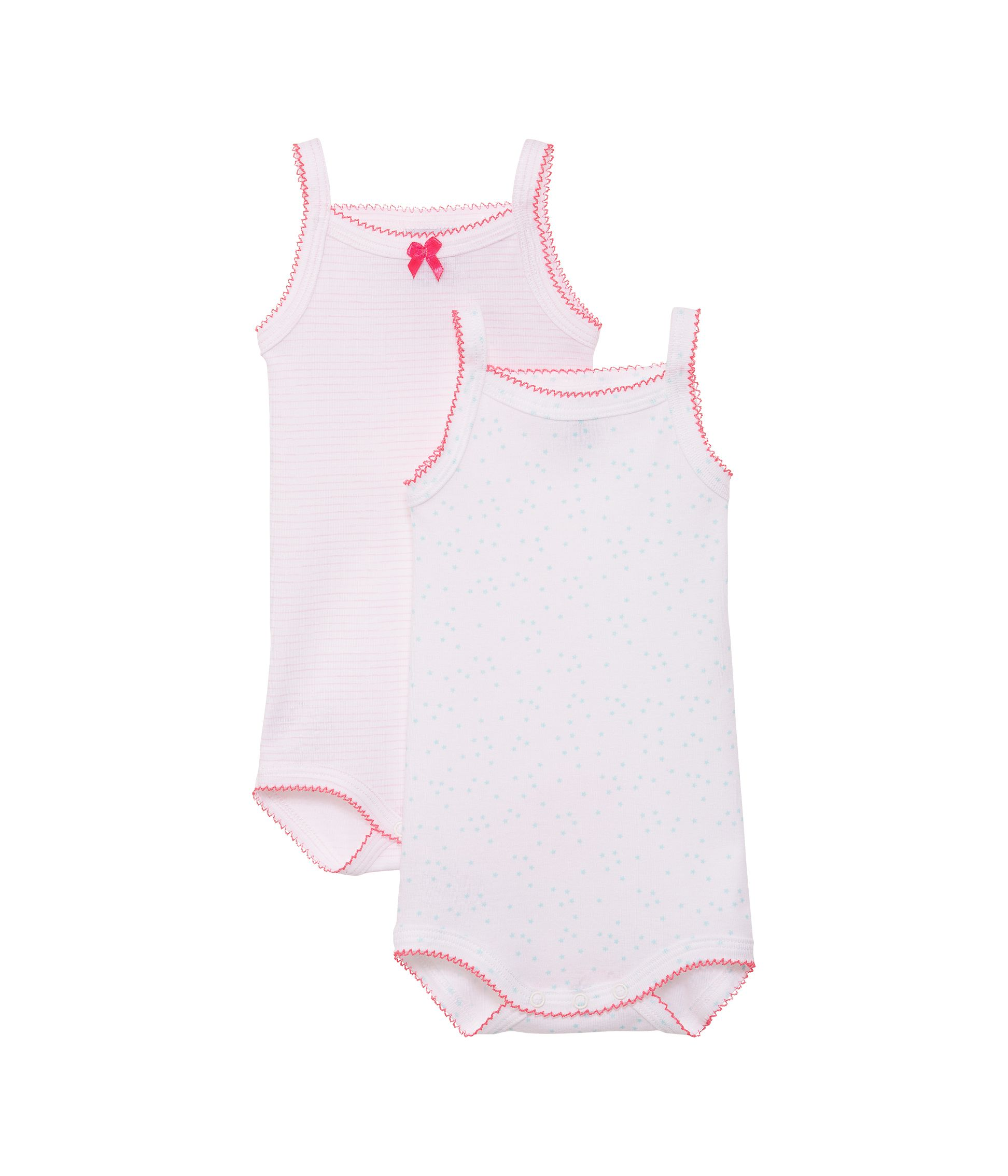 Baby girls 2 pack of bodysuits
