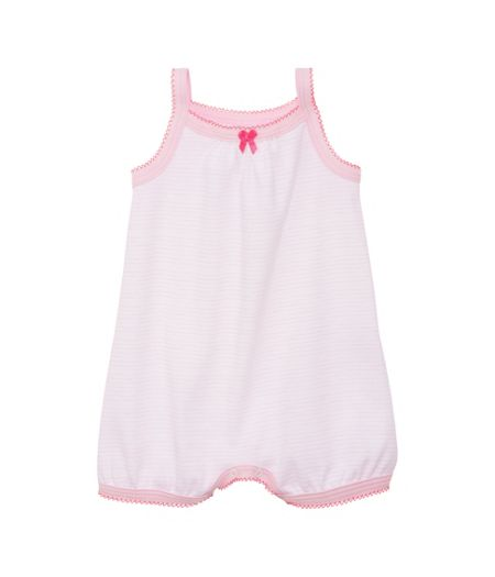 Petit Bateau Baby girls bloomer all-in-one
