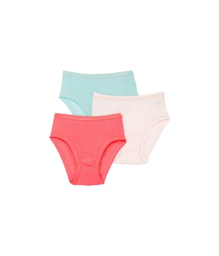Petit Bateau Girls 3 pack of light cotton pants