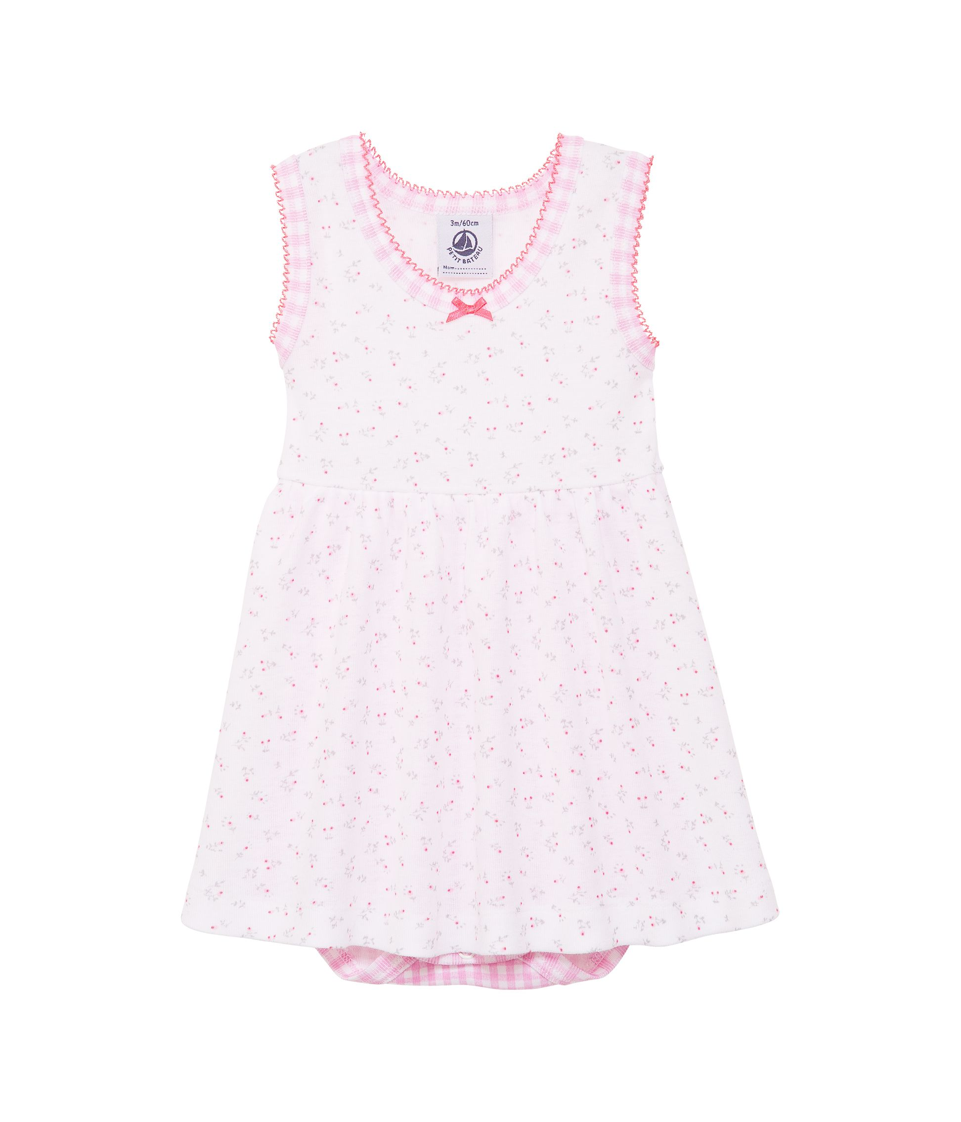 Baby girls dress with bodysuit