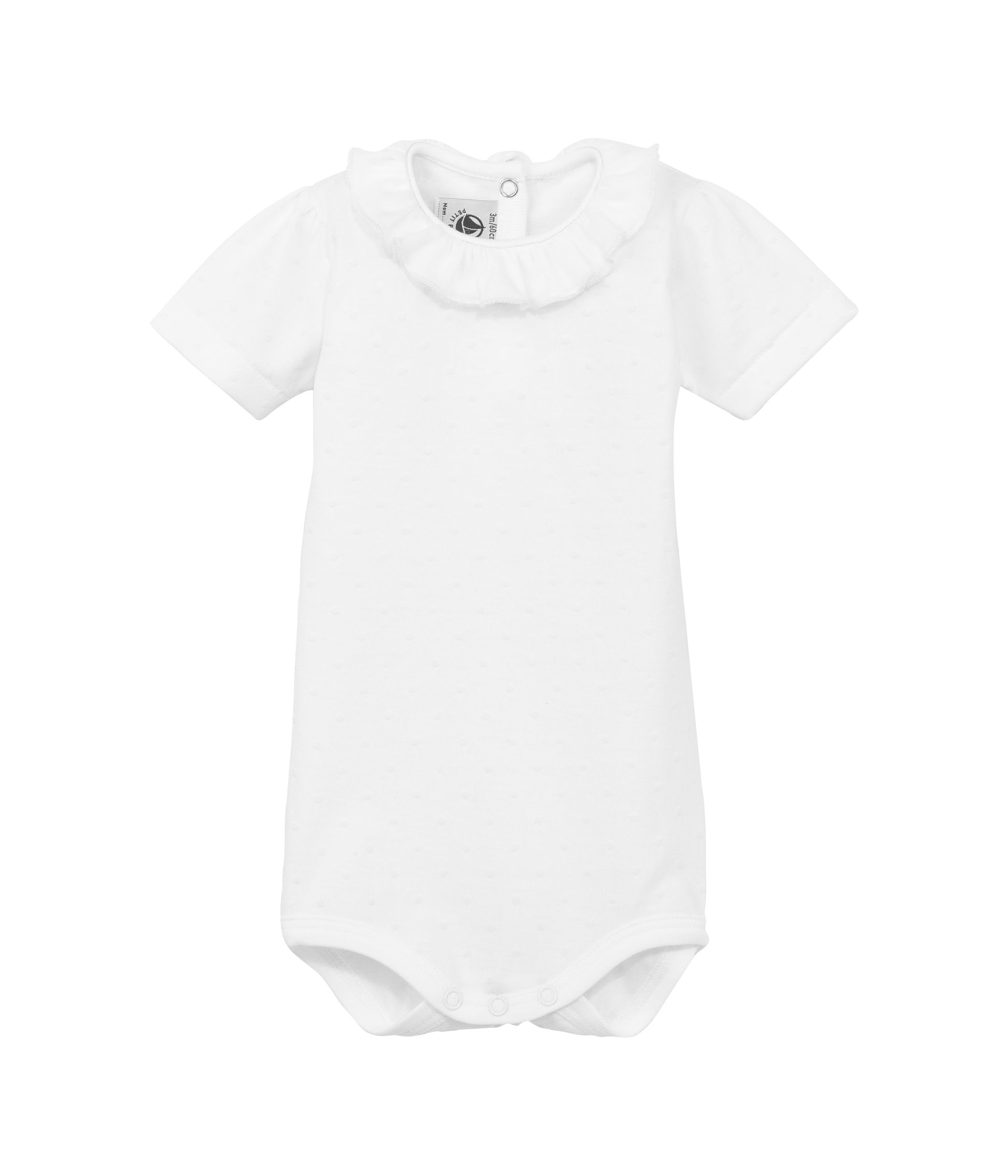 Baby girls short sleeve bodysuit