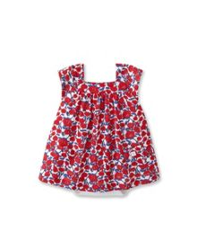 Baby Girls 2 In 1 Poppy Print Body Dress