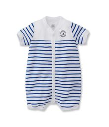 Baby Boys Striped Short All In One