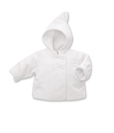 Petit Bateau Babies Padded Jacket With Sparrow Motif
