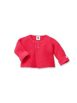 Baby Girls`S Knitted Cardigan