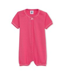 Petit Bateau Baby Girls Cotton Polka Dot Shortie