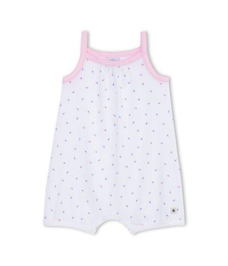 Petit Bateau Baby Girls Shortie With Strawberry Print