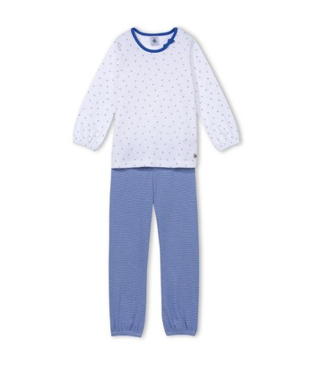 Petit Bateau Girls Strawberry Print Pyjamas
