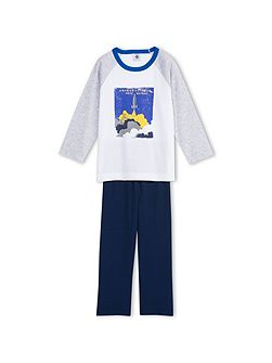 Boys Cotton Pyjama With Print